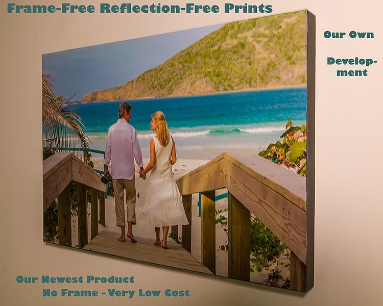 Frame-Free Reflection-Free