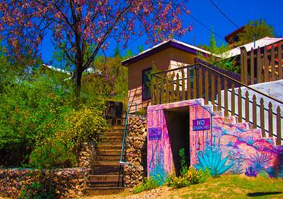 'Springtime,' Bisbee, AZ 2017.