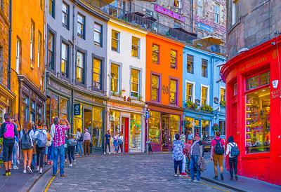 'Victoria Street,' Edinburgh, Scotland, 2018