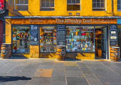 'On The Trail,' High Street, Edinburgh, Scotland, 2018