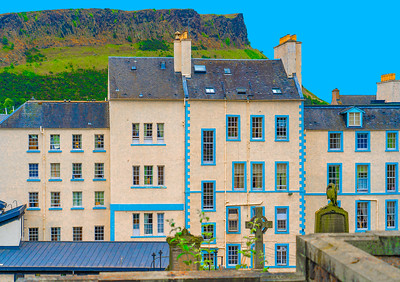 'Scottish Blue,' Edinburgh, Scotland, 2018