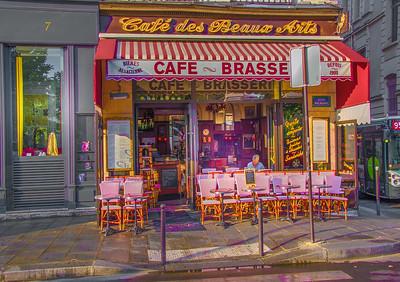 'Café des Beaux Arts,' Paris 2017
