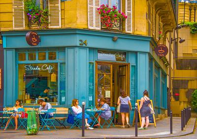 'Strada Café,' Paris 2017