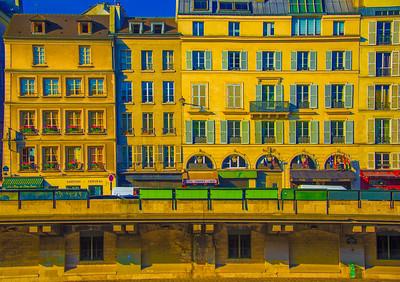 'Morning Seine,' Paris 2017