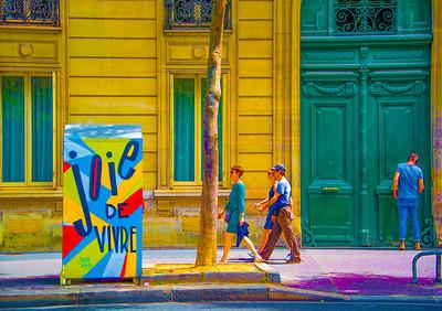 'Joie de Vivre,' Paris 2017