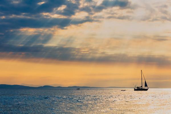 Salish Sea Sailboat