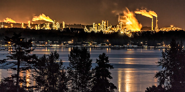 BP plant, overlooking Birch Bay