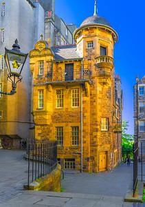 'The Writers' Museum,' Edinburgh, Scotland, 2018
