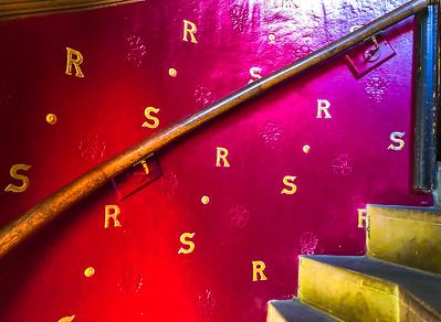 'Robert Lewis Stevenson Staircase,' The Writers' Museum, Edinburgh, Scotland, 2018