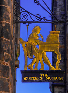 'The Writer,' The Writers' Museum, Edinburgh, Scotland, 2018