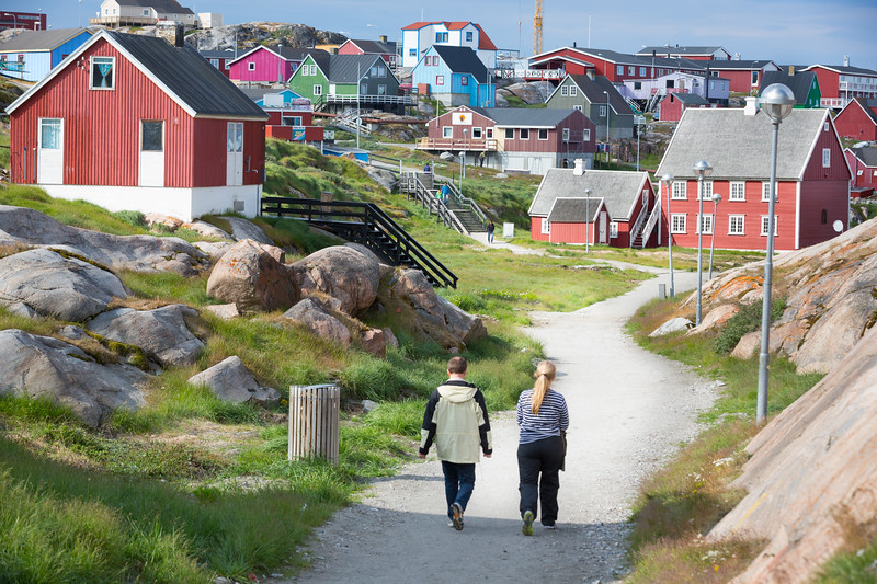 walking into Ilulissat