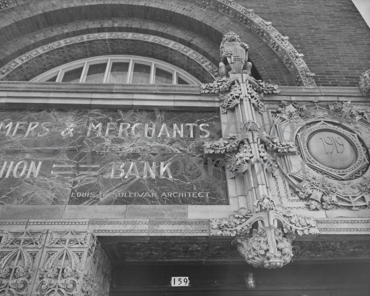 HABS, Farmers & Merchants Bank, Columbus, wisconsin, jewel box