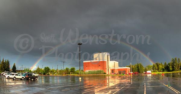 Double Rainbow - UMD Duluth, MN