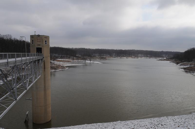 Cagles Mill Dam
