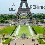 A like Architecture  -  Jardins du Trocadero