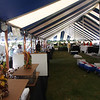 Another view of the Chef's Tent where soon the smell of food will be enjoyed and sampled by 1000 paying guests.