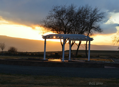 In Grand Junction CO - watching the sun set.