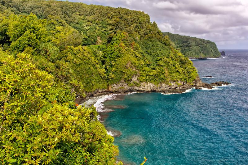 Road to Hana Coastline - Maui, HI