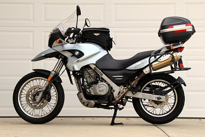 BMW F650GS Dual Sport Motorcycle