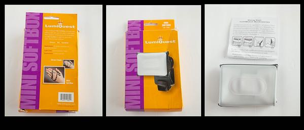 Lumiquest Mini Softbox - $20