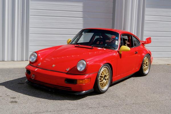 SOLD: '91 Porsche 964 H Class Race Car
