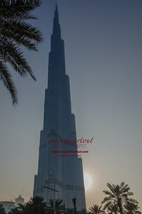 Burj Khalifa at Dawn