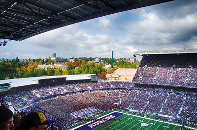 Fall Colors, Husky Stadium