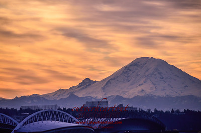 Mt. Ranier Sunrise