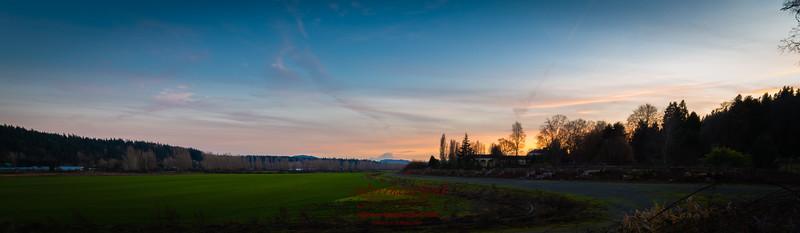 Another view of a fabulous Mt. Rainier sunset.  www.cutyerheartout.com