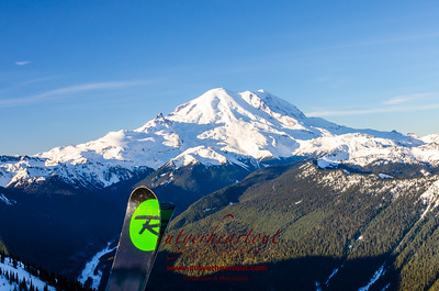 Mount Ranier, Early Riser Skiing