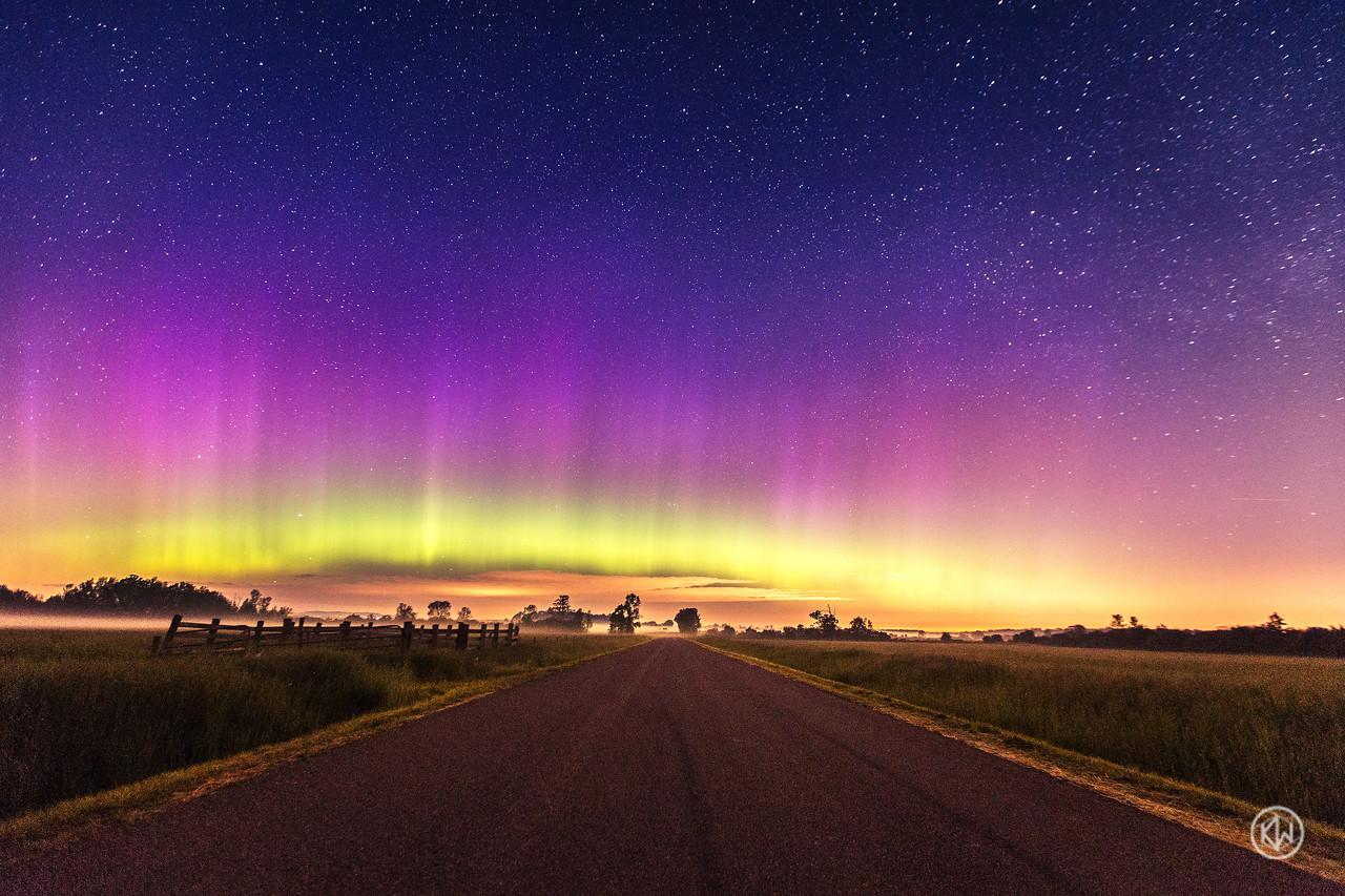 Northern Lights — Geneseo, NY