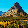 Set up for a very wide panorama 5 X 30 it comes out beautiful! This was taken in Glacier National park and is a view of Swift Current Lake.