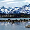 Set up for a very wide panorama 12 X 30 it comes out beautiful! This is Haines Alaska, near Skagway! Go Metallic on this one it is spectacular!