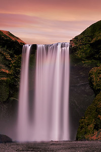 Skogafoss Long Exposure
