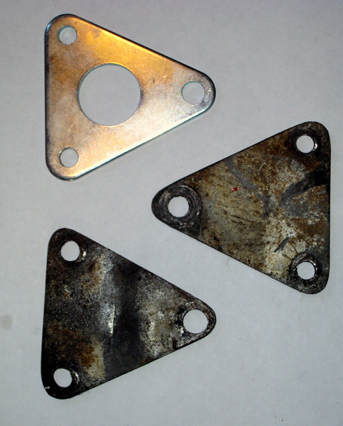 3 KLR650 engine mounts for sale - 1 new, and 2 used.