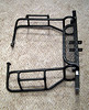 Side View of nerf bars for sale.
