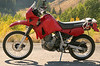 Side view of KLR650 for sale