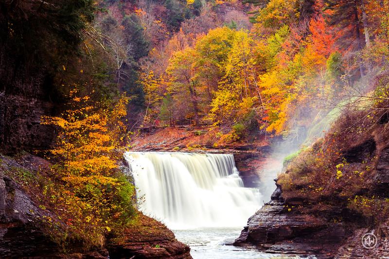 Lower Falls — Letchworth State Park