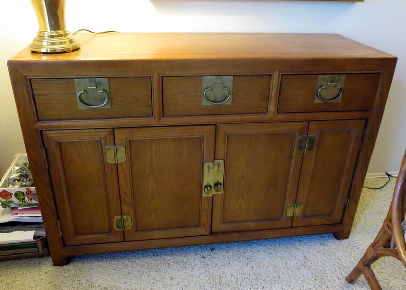 """GlassChest Dresser/ Cabinet --- 50"""" long x 17"""" deep x 33"""" high"""