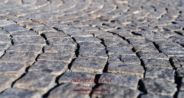 Cobblestones of Prague