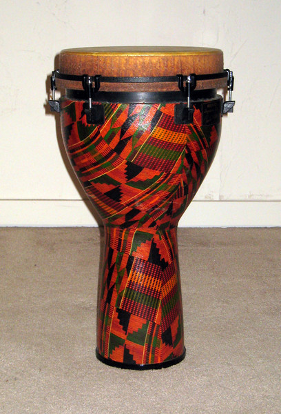 """Side view of Remo Djembe 12\"""" drum for sale."""