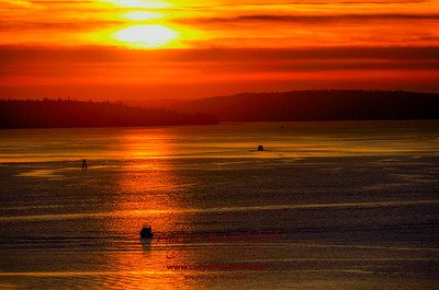 Elliot Bay Sunset
