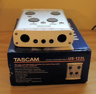 Tascom US122L USB Audio Mixer