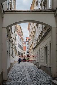 Alleyway in Vienna