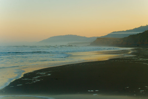 Peaceful Early Morning Ft Bragg, CA, US