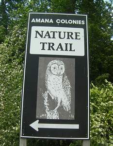 Welcome to the Amana Nature Trail, Iowa County Ia