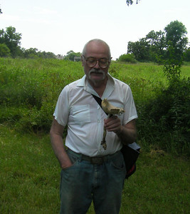 After 4 hours in the wood, Damian finds a Amanita vaginata along the edge of the parking area.