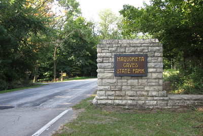The east entrance to the park.