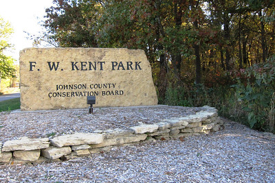 The entrance to F. W. Kent Part in Johnson County, Ia.