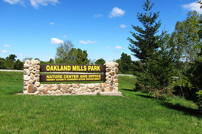 Welcome to Oaklands Mills County park in Henry County Iowa.